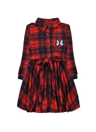 By Leyal For Kids Elbise Kırmızı